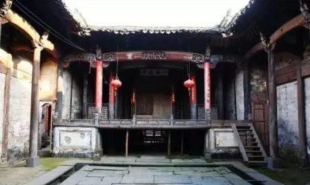 国家重点文物保护单位——祁门陈氏古戏台