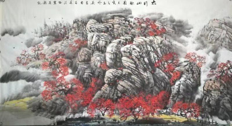 当代实力派书画艺术家——王润和作品欣赏